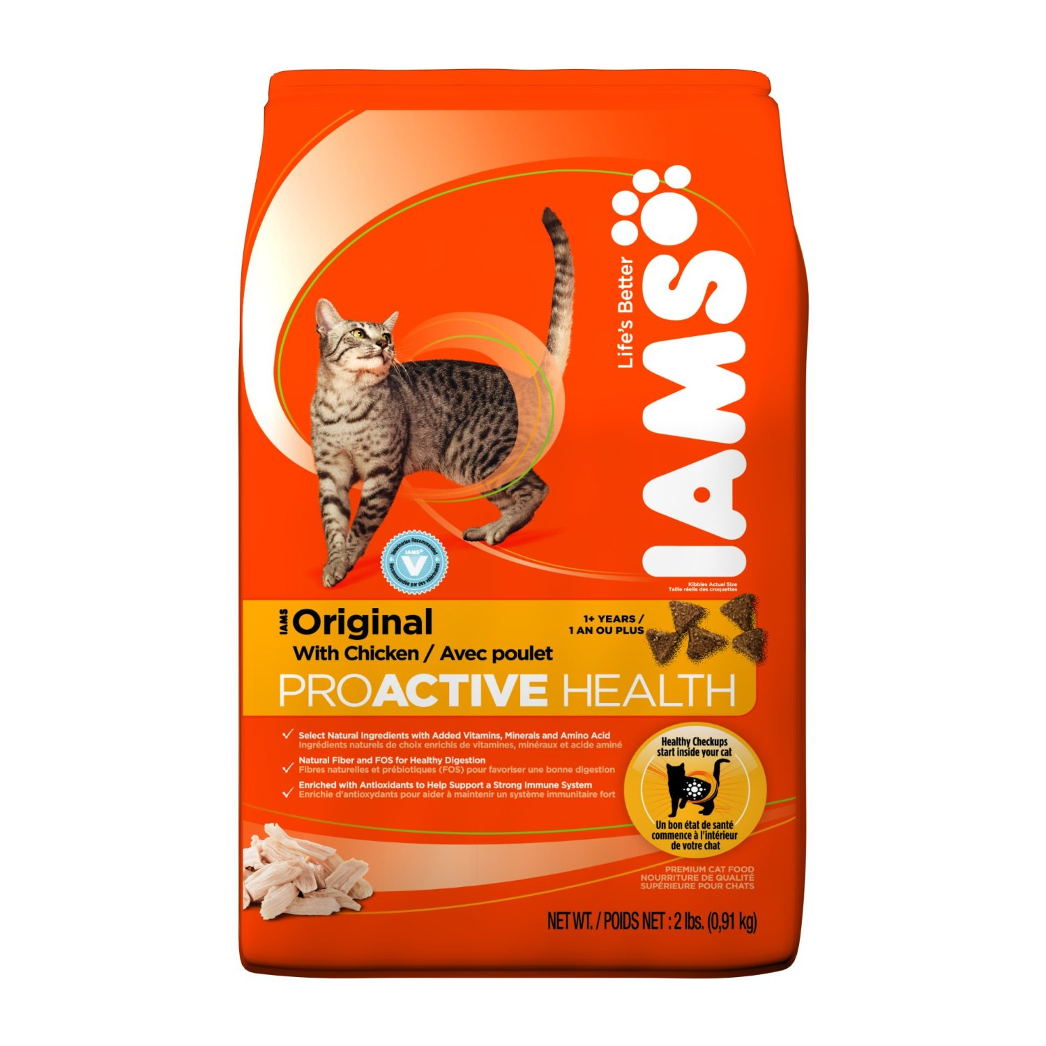 20% off Iams Cat Food Coupon